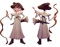 Fantasy character: half-elf Celyie