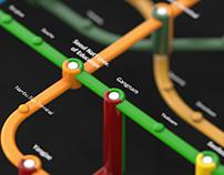 Seoul City Metro Map