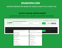 Zhaboom User Enhancement Design