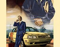 Better Call Saul, alternative tv poster.