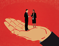 HR Decisions Magazine - Editorial Illustration