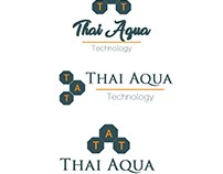 Thai aqua Technology logo sec pattern