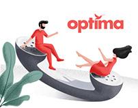 myOptima - iOS & Android app