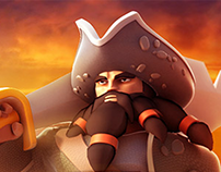 Pirate War: Age of Strike promo banners