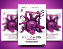 Halloween Fashion Edition Flyer