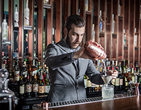 WORLD CLASS BAR TENDER'S PORTRAIT