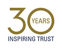 TÜV SÜD America 30th Anniversary Logo