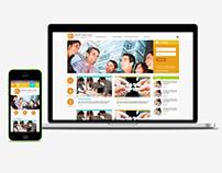 Diseño de marca y sitio web de Sindicato de trabajadore