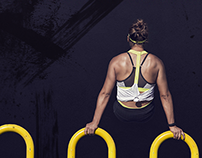 THE STRENGHT OF A WOMAN- website concept