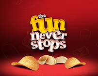"Pringles ""The Fun Never Stops"" Activation Campaign"