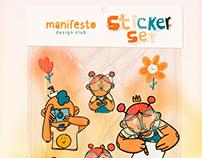 Manifesto Sticker set