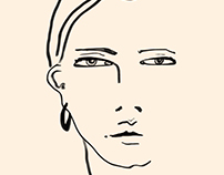 Black Figure | Fashion Illustration