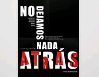 Afiche Tipográfico - Tipografía II UADE 2018