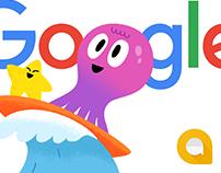Google Allo Stickers: Fun-der the sea