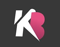 Logo Hairstylist: KB