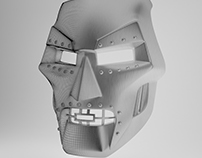 Dr. Doom Mask for 3D Printing