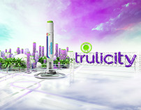 Lilly Trulicity launch design & CGI & MG