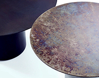 "Coffee tables ""OXYDATION"""