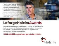 Publicidad LafargeHolcim Awards - Holcim Argentina