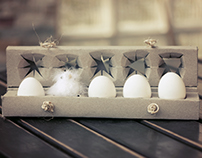 ECO PACKAGING DESIGN - for eggs