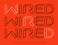 FONT WIRED