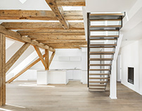 Luxury attic maisonette flat - Munich