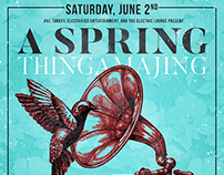 Spring Thingamajing event poster