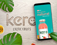 Kero Exotic Fruits Rebranding