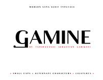 GAMINE - FREE ELEGANT SANS SERIF
