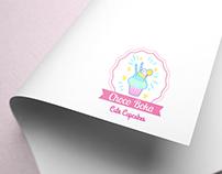 """ChocoBoka Cupcakes"" Logo Design"