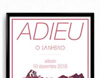 O Lanheiro Café-Bar / Farewell Party // Poster