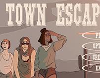 Old Town Escape game concept