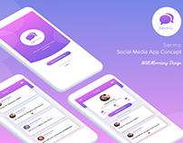 Sermo - Social Media App UI