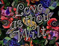 Love as thou wilt