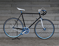 FIXED GEAR BIKE - FIXIE ONE BICYCLE REDESIGN