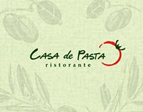 [凱薩帝 Casa de Pasta] Restaurant Branding