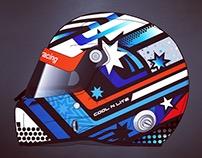 Martin Berry Helmet Design 2018