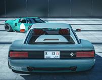 Testarossa x GT   CGI
