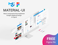 Material-UI: React components in Figma - Free Download