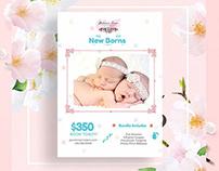 Newborn-Photography Flyer