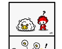 Monster Little comic - Happy Chinese New Year 2015