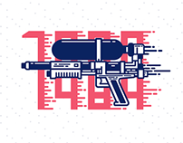 NERF Super Soaker Series Illustrations/Icons