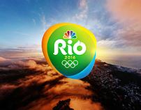 NBC Olympics Rio 2016 // Trollbäck + Company