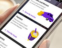 Service app for housing.com