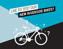 BTWIN's New Riverside Bike testing