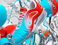 Nike X JD / Air Max 720