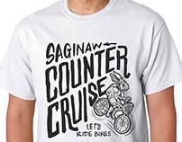Saginaw Counter Cruise T-Shirt Design