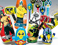 CMLL (mexican wrestling) Inflatable toys