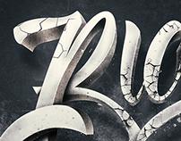 Big E 3D Custom Typography