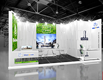 Exhibition stand for company MONARCH